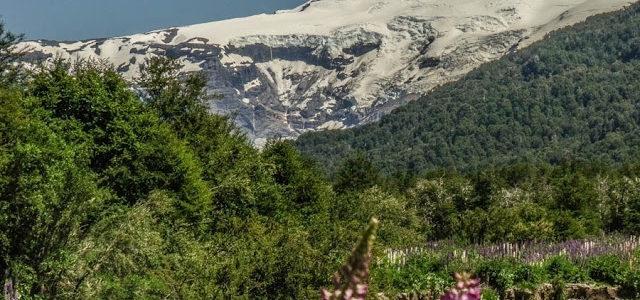 Ventisquero Negro e Cerro Tronador