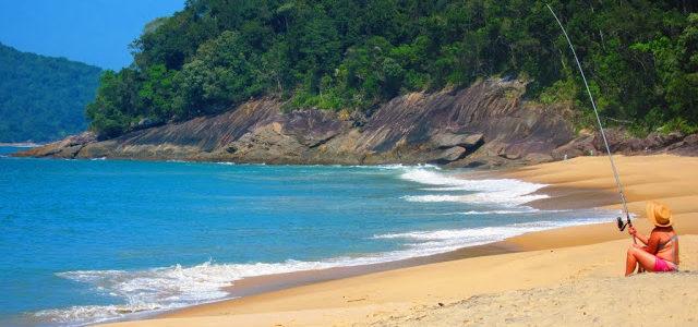 Praias desertas: Caraguatatuba e Ubatuba