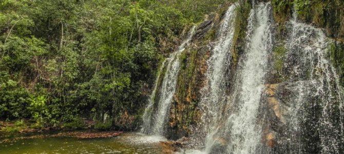 Cachoeira Cristal na Chapada dos Veadeiros