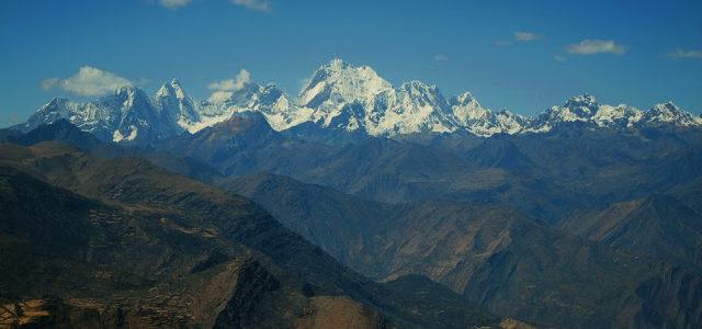 Cuartelhuain, Trekking Huayhuash – Dia 1