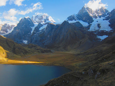 Paso Cacananpunta, Trekking Huayhuash – Dia 2