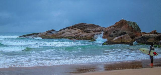 Garopaba e Praia da Ferrugem em Santa Catarina