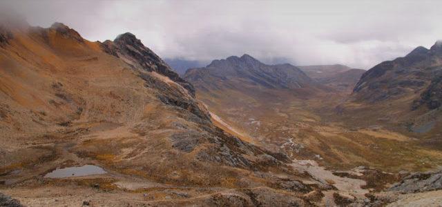 Campamento Jancarurish ao Campamento Huillca – Peru