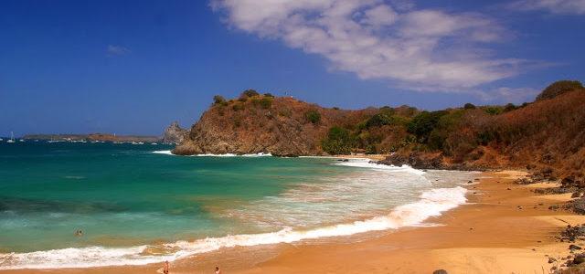 Passeio de barco, Praias da Conceição, Meio e Cachorro – Noronha – Brasil
