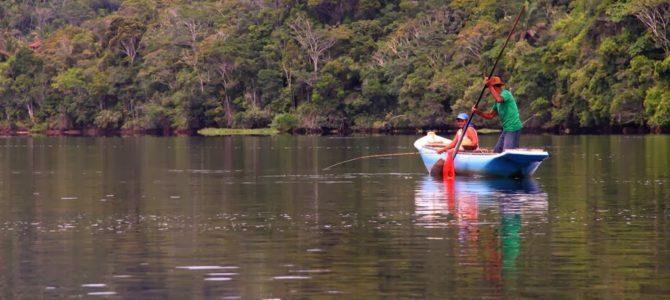 Canoa no Rio de Contas e Cachoeira do Cleandro em Itacaré