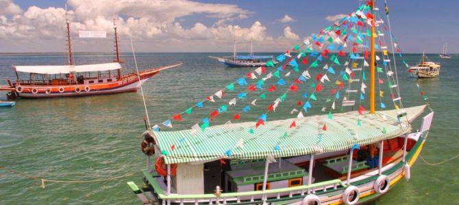 Passeio de barco – Península do Maraú – Bahia – Brasil