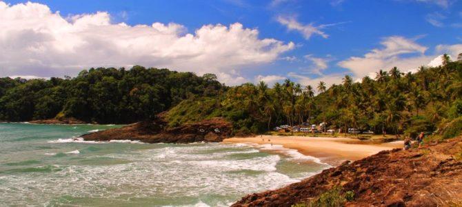 Quatro praias urbanas e trilha para Prainha, Itacaré – Brasil