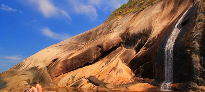 Travessia da Joatinga: Cachoeira do Saco Bravo, Brasil
