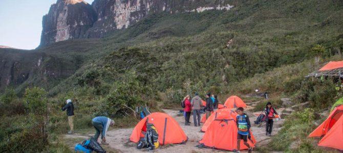 Chegando no topo do Monte Roraima – Passo das Lágrimas