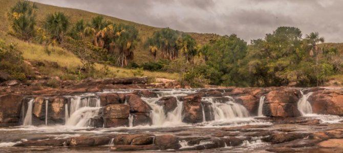 Corredeiras do Sorowapo e Cachoeira do Rio Yuruani na Gran Sabana