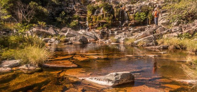 Cachoeira do Bené na Serra do Cipó