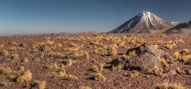Cerro Toco no Deserto do Atacama