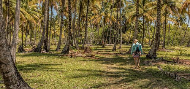 Caminhando de Boipeba até Moreré, Bahia