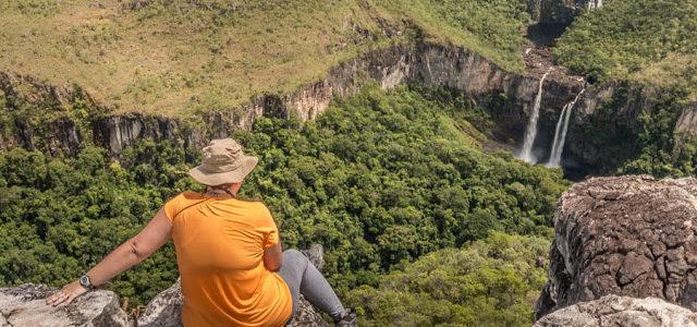 Trilha para Cachoeira do Abismo e Mirante da Janela na Chapada dos Veadeiros