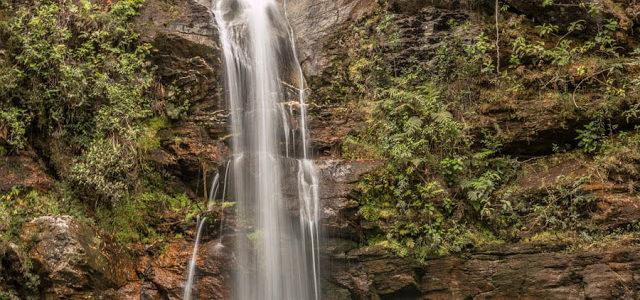 Cachoeira Santa Bárbara e Poço Encantado na Chapada dos Veadeiros
