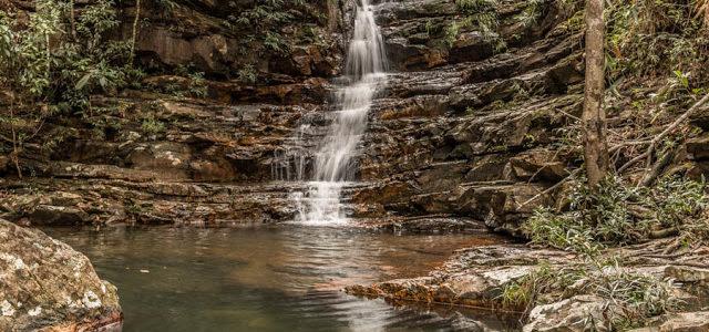 Cachoeira das Loquinhas na Chapada dos Veadeiros