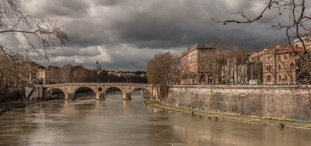 Chegando ao velho mundo e uma volta por Roma