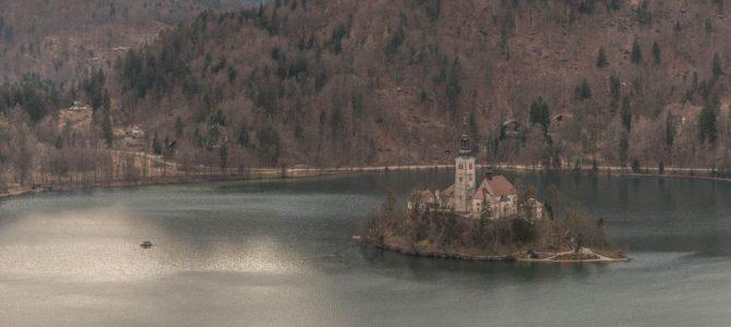 Castelo e Lago Bled na linda Eslovênia