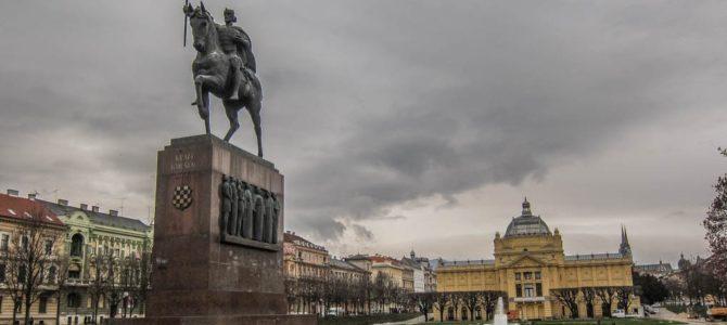 Um dia em Zagreb, capital da Croácia