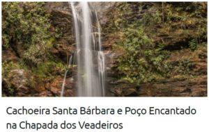 cachoeira santa barbara e poco encantado