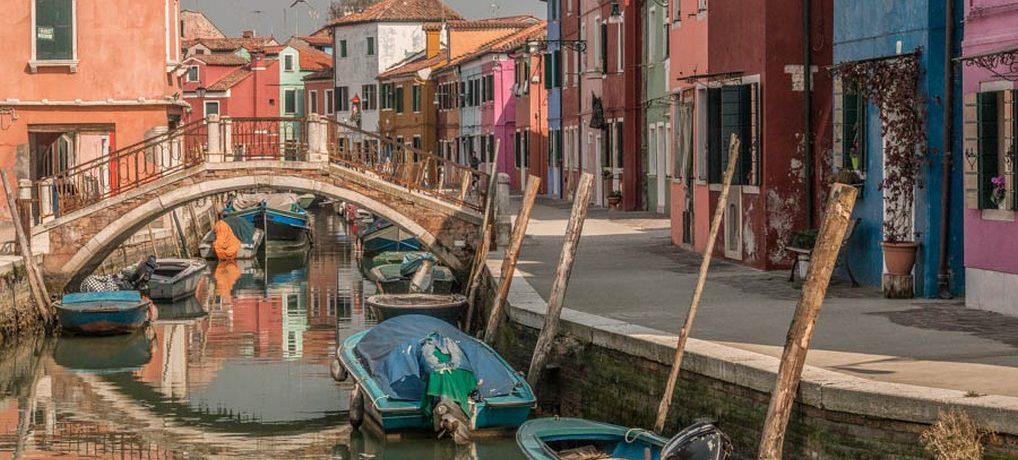 Torcello, Burano e Murano em Veneza, Itália