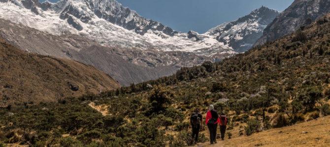 Campo Base Alpamayo no trekking Santa Cruz