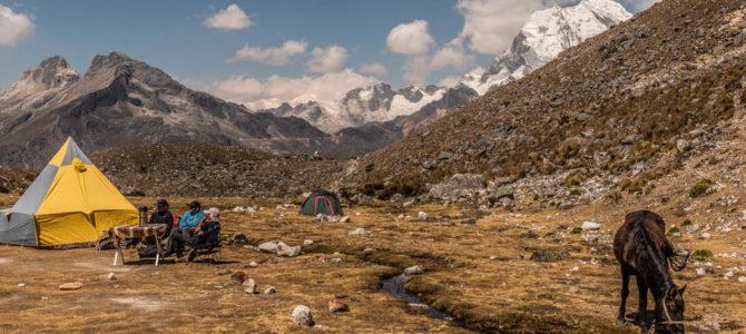 Acampamento Base do Nevado Pisco, Peru