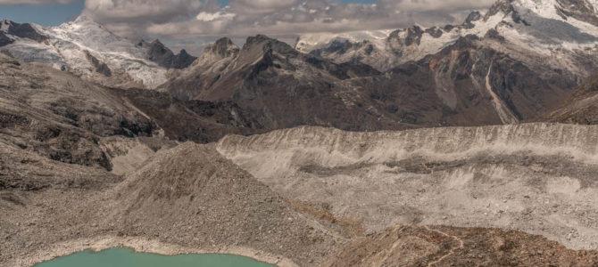 Acampamento la Morrena no Nevado Pisco