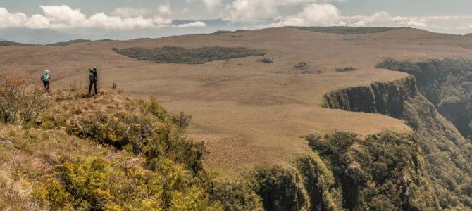 Cânion Cambajuva e Trombudo em Cambará do Sul