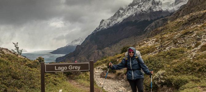 Refúgio Grey ao Paine Grande em Torres del Paine