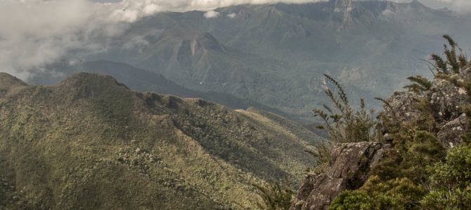 Pico dos Três Estados na Travessia da Serra Fina
