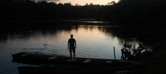 Casa ribeirinha: entorno do PARNA Tumucumaque