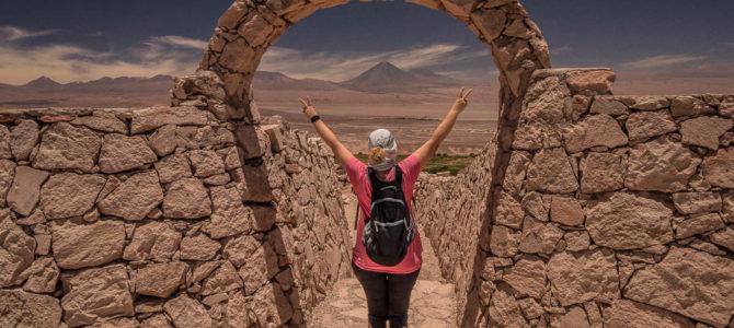 Pukara de Quitor em San Pedro de Atacama