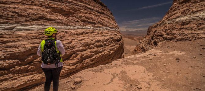 De bike até Valle de Marte no Atacama